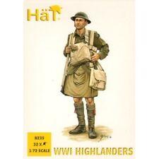 HaT Miniatures 1/72 WORLD WAR I HIGHLANDERS Figure Set