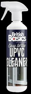 British Basics 500ml UPVC Cleaner Reviver Conservatory Window Door Frames Facia