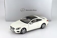 NOREV 2015 MERCEDES BENZ S CLASS COUPE WHITE 1:18 Dealer Edition Now In Stock!