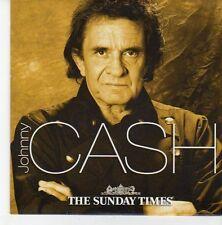 (EB628) Johnny Cash, 10 tracks - The Sunday Times CD