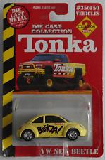 "Tonka/Maisto – VW New Beetle gelb ""Bonzai"" Neu/OVP"