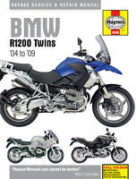 BMW R1200 R1200GS R1200R RT 2004-09 Haynes Manual 4598 NEW