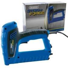 Draper Electric Stapler Staple Gun & Brad Nail Fixing Upholstery Tacker 15636