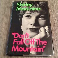 Don't Fall Off The Mountain by Shirley MacLaine (First Edition 1970 HC DJ)
