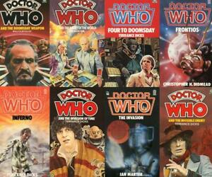Doctor Who - Target Novels lots available (please see list for titles)