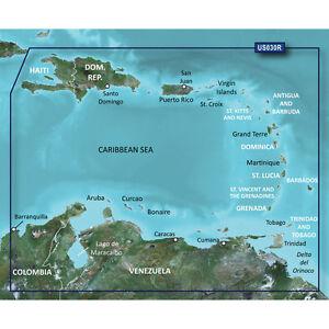 GARMIN VUS030R G2 VISION SOUTHEAST CARIBBEAN model 010-C0731-00