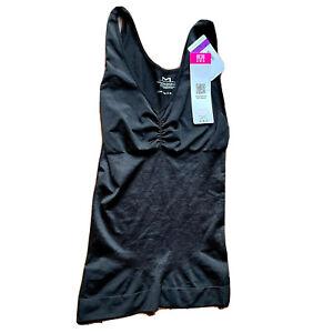 Maidenform Cami Firm Shaper Control It Shapewear Size 2XL Black Seamless 12599