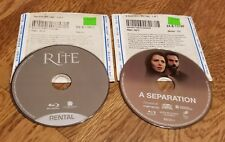 Mixed lot of 2 Used BLU-RA  Various Genres No Cases/In Sleeves DRAMA and Horror