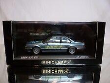 MINICHAMPS  BMW 635 CSi - IAA 2001 - BLUE METALLIC 1:43 - GOOD CONDITION IN BOX