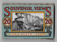Vintage Long Beach California Souvenir Views Card Set 1940s Complete!