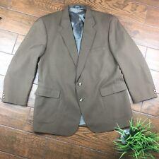 9fa24650b4c0 John Blair MENS 48 Brown 2 Button Blazer Sport Coat Jacket