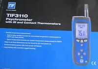 TIF3110 TIF 3110  Thermometer Differential  Temperature  SPX with Case New