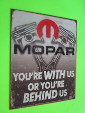 tin garage repair shop advertising decor dodge chrysler plymouth hemi mopar