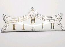 Vienna Regulator Porcelain Clock Beat Scale Genuine Antique some wear part F1150