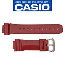 Genuine CASIO G-SHOCK Watch Band Strap DW-6900MF-4 Metallic 16mm Red Rubber