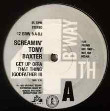 """SCREAMIN' TONY BAXTER - Get Up Offa That Thing (12"""") (Promo) (VG-/G++)"""