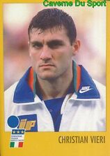 CHRISTIAN VIERI ITALIA FIGURINE STICKER MERLIN AZZURRI CON IP 1982-1998