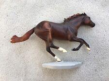 Retired Breyer Horse #586 Smarty Jones Chestnut Thoroughbred Racehorse Champion