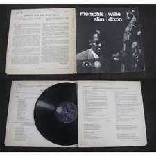 MEMPHIS SLIM & WILLIE DIXON - Same LP Folkways Blues Rock