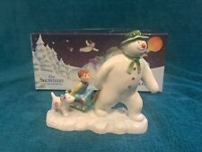 Beswick the snowman billy and the snowdog figure boxed.