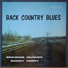 Sonny Terry Brownie McGhee Back Country Blues Savoy 14019 Deep Groove RVG Mint-