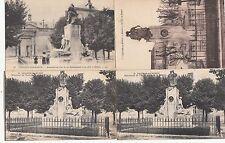 Lot 4 cartes postales anciennes CHÂLONS-SUR-MARNE monuments