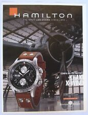 Hamilton Khaki Automatic X-wind Rare Ad clipping Magazine 2006 advertising