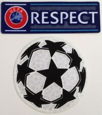 Lot 2 patchs UEFA RESPECT ligue des champions 2020 / 2021 NEUFS