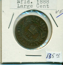 NFLD 1888 VF 1 cent