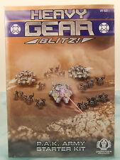 Heavy Gear Blitz! PAK Army Starter Kit (Starter Box) *Brand New/Sealed* DP9
