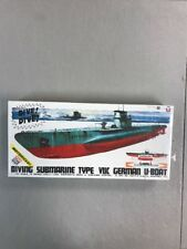 Yamada Scale Craft DIVING SUBMARINE TYPE VIIC GERMAN U-BOAT Motorized Kit SEALED