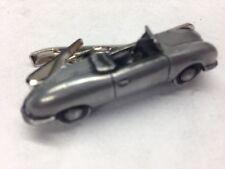 Porsche Nr1 Prototype ref185 pewter effect car emblem on a Tie Clip 4cm