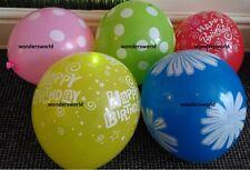 5 Illuminare Happy Birthday illoom palloncini colore misto Design LED luminoso