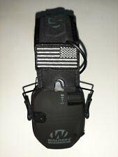 New listing Walker's Razor Slim Electronic Muff Black Patriot Version