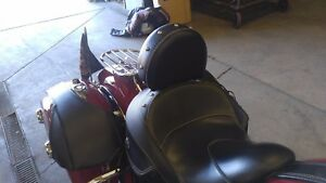 2014- UP INDIAN ROADMASTER or CHIEFTAN QUICK RELEASE DRIVER BACKREST