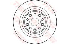 TRW Disco de freno (x1) 335mm ventilado LEXUS LS DF6038S