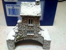 """Lilliput Lane Cottage """"Bridge House in Winter"""" Special Edition, Retired, In Box"""