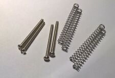 New Slotted Vintage Style Nickel PAF Screws #3 x 48 & Springs for Gibson USA