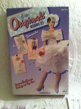 Vintage 1991 Golden Bride Originals Designer Set Plastic Doll Art Craft Kit