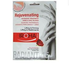 IROHA Hand And Nail Gloves Rejuvenating Rose Mask
