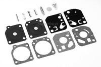 Zama Echo Chainsaw Trimmer Carburetor Gasket Repair Kit Diaphragm Parts Kit