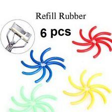 6 PC Cosmetici Make Eyelash Curler RICARICA RICAMBIO GOMMA PAD Comestic Strumento