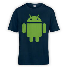 For Android Kids T-Shirt -x10 Colours- Developer Phone Tablet Hobby Mod Game