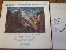 ALP 1752-4 Weber Der Freischutz / Schock / Keilberth etc. 4 LP box