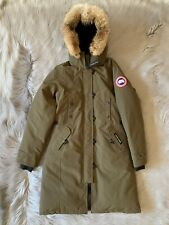 Canada Goose Kensington Parka Hooded Down Size XS Military Green SOLD OUT!