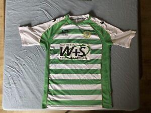 2013-14 Yeovil Town Home (m) Shirt Jersey Trikot Camiseta Maillot Maglia