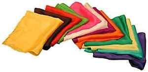 Seidentuch - genau das Richtige zum Zaubern - Alle Größen und Farben !