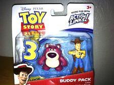 DISNEY TOY STORY 3 ACTION LINKS BUDDY PACKS/CAKE TOPPER NEW 2009/BOY/GIRL T0429