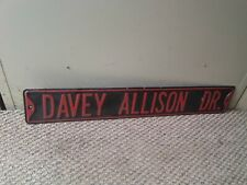 Davey allison signed