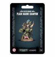 Plague Marine Champion Death Guard Chaos Space Marines Warhammer 40K NIB
